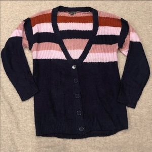 Wild Fable Striped Knit Cardigan